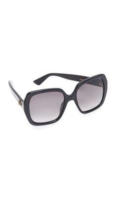 ¡Consigue este tipo de gafas de sol de Gucci ahora! Haz clic para ver 3ac60745681