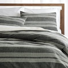 Monterey Duvet Covers and Pillow Shams | Crate and Barrel