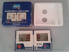 NINTENDO GAME WATCH RAIN SHOWER LP-57 MULTI SCREEN BOXED RARE!!! R2201