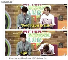 Look at Kevin's face xD And then there's Eric who just looks done with everything XDD