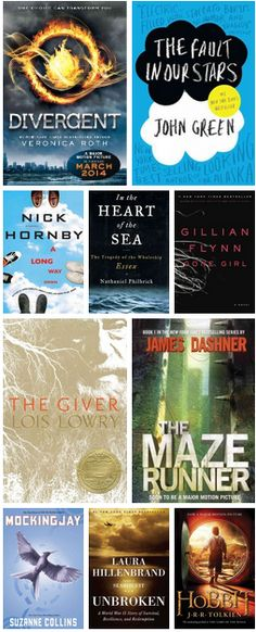 Ten Great Books Becoming Movies in 2014. | 2014 is shaping up to be an exciting year for #books and #movies! Whether you want to get ahead of the game and read the books before the films come out, or just want to know what you can expect to see hitting the cinema this year, here are our top picks for upcoming movies being adapted from books...