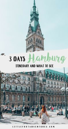 Hamburg is the second largest city in Germany and with so many beautiful canals and lakes, the harbour, museums, shopping and great food it's not actually hard to convince you to visit the city. I hope you enjoy this mini guide and follow my steps around Hamburg, I promise it will be worth it! Hamburg | Germany | Itinerary | What to see in Hamburg | Top things Hamburg #hamburg #germany #europe #weekend #tourism