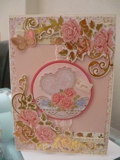Card made from Sugar Rush collection with added lace.