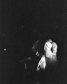 Jim Morrison of The Doors live in concert.