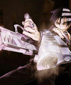 Death the Kid, twin pistols; Soul Eater