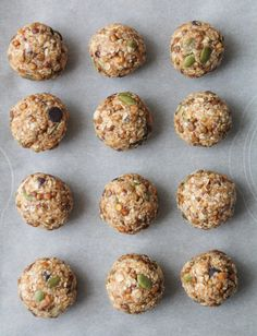 Crispy Lentil Energy Bites. These original tasting energy bites use crispy, sweet roasted lentils as the protein source. Great texture and gluten free!