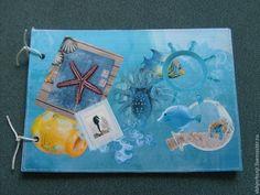 Купить Средиземноморский. Детский фотоальбом. А5. Морской стиль - подарок на день рождения