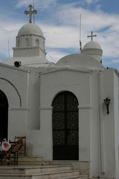 Chapel of St. George on Mount Lycabettus in Athens, Greece