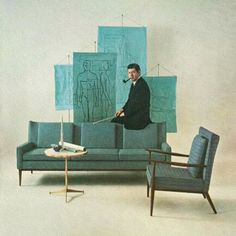 paulmccobb and his midcentury furniture for directional via daniellaondesign- furniture, design, love