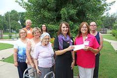 Abilene Kansas App News Center: Volunteer Corps Donate for Garden Care