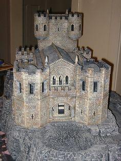 A castle using Hirst Arts bricks, excellent build.