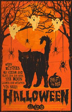 Image result for vintage halloween