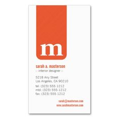 {TBA} Simple Monogram Designer Business Card created by BizCardShoppe. This design is available on several paper types and is totally customizable. Modern Business Cards, Custom Business Cards, Business Names, Business Card Design, Creative Business, Email Marketing Design, Name Cards, Monogram, Inspiration