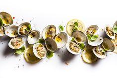 Cooked clams. © Francesco Tonelli - See more at: http://theartofplating.com/editorial/francesco-tonelli-chef-to-photographer/