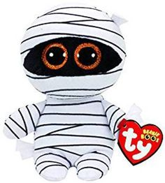 9d5bcef4d62 Ty Beanie Babies Boos 37234 Mummy the White Mummy Halloween Boo NWT  Ty  Halloween Beanie