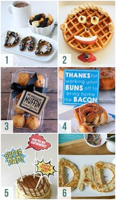 Creative Father's Day Breakfast Ideas #fathersday #fathersdaybreakfast #datingdivas