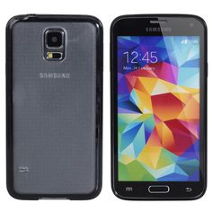 Two-in-one Frosted  Protective Case For Samsung S5 i9600 Smart Phone
