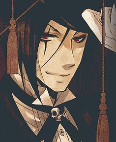 "Black Butler ~~~ Sebastian as ""Black"" in the Circus :: does anyone have Will as ""Suit""?! I'd love to see it!"