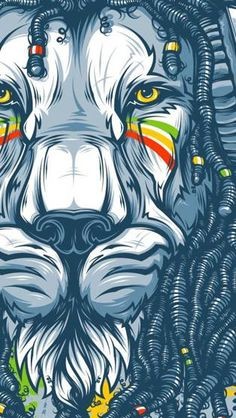 The Rasta Lion