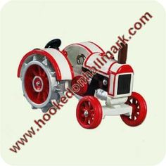 2005 Antique Tractor #9 Miniature Hallmark Ornament at Hooked on Ornaments