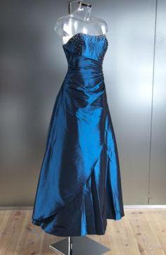 Blauwe galajurk met steentjes 478