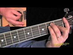 How to Play an F Bar Chord For Dummies