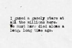david bowie lyrics - The man who sold the world