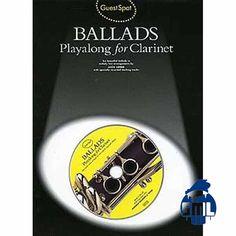 Baladas para clarinete, toque com o CD que acompanha o livre.