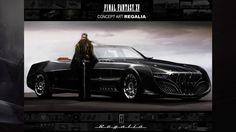 Final Fantasy XV | Concept Art: Regalia