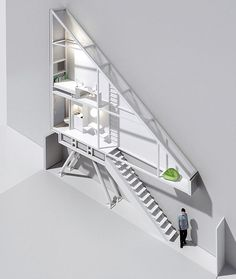 just a 1.5m wide: the Keret House  It was built as a comment on the lack of housing being built in Poland