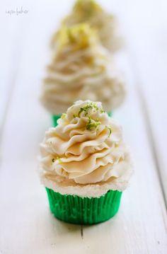 Margarita Cupcakes via @Amanda Rettke