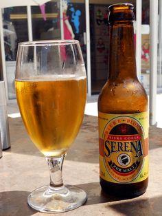 Serena (5°), bière blonde corse