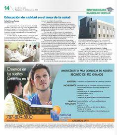Educación de calidad en el campo de la salud #educacion #salud