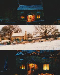 can't get enough of this adorable cottage from The Holiday.