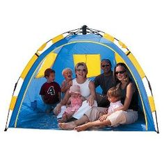 Portable Beach Tent  Target Mobile  sc 1 st  Pinterest & Amazon.com: Genji Sports Pop Up Family Beach Tent And Beach ...