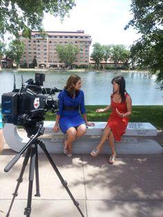 Photo: @kristiyamaguchi interview @TheBroadmoor in Colorado Springs #Olympics