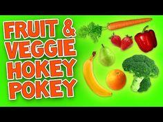 Hokey Pokey (Fruit & Veggie) - Children's Dance Song with Lyrics - The Learning Station Blog