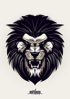 Tattoo Lion Angry Animals Ideas For 2019 Tattoo L, Lion Tattoo, Lion Vector, Vector Art, Logo Lion, Angry Animals, Lion Images, Dragons, Lion Drawing