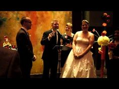 Unplugged Wedding? How to tell your guests to put their phones and cameras away. Ironically, the clip was captured on a guest camera with WeddingMix!