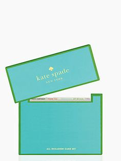 All occasion card set $30 @ Kate Spade