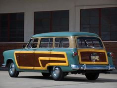 1952 Ford Crestline Country Squire
