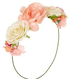 Love flower headbands
