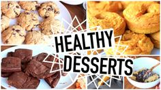Healthy Dessert Recipes! Easy And Perfect For Fall!