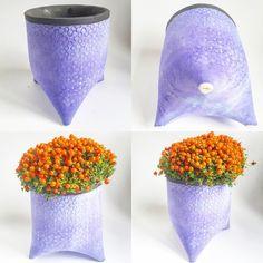 Three legged Ceramic Plant Pot Holder  £24.00