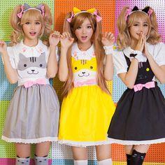 Game Neko Atsume Cosplay Costumes Cute Girls Lolite Dresses Harajuku Jumper Skirt Cosplay Kawayi Uniform Outfit Maid Clothing #Affiliate