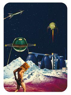 Terrific Collage Artworks by Raintree1969 | Abduzeedo | Graphic Design Inspiration and Photoshop Tutorials