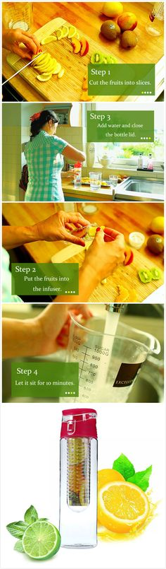 Do you like to make fruits juice by your own hands?