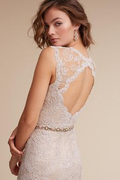 April Gown in Bride Lace Back Wedding Dress, Wedding Dress Types, Princess Wedding Dresses, Bridal Wedding Dresses, Bridesmaid Dresses, Anthropologie Wedding, Couture Wedding Gowns, Gowns Couture, Wedding Looks