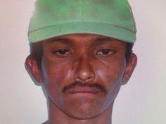 Polícia divulgou retrato falado de autor do crime (Foto: Divulgação/Polícia Civil)
