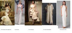 Soft Classic wedding dress DON'TS...